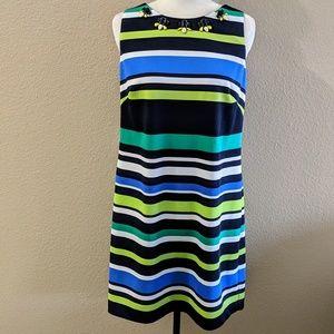 VINCE CAMUTO Striped DRESS